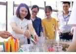 Học sinh Trường THCS Yên Bài B về thăm quan học tập trải nghiệm tại Trường.
