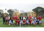 Làm việc và giao lưu thể thao với Trường Đại học Lâm Nghiệp